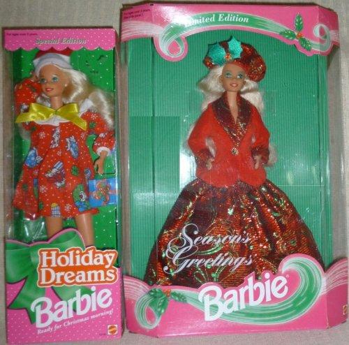 1994 Barbie Holiday Dreams, 1994 Barbie Season's Greetings.jpg