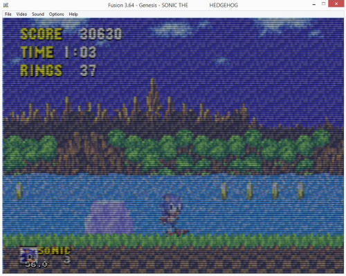 sonic behind waterfall.png