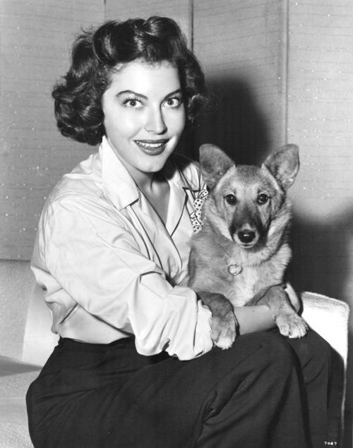 Interesting Vintage Photos of Classic Movie Stars Spending Time With Their Pets (7).jpg