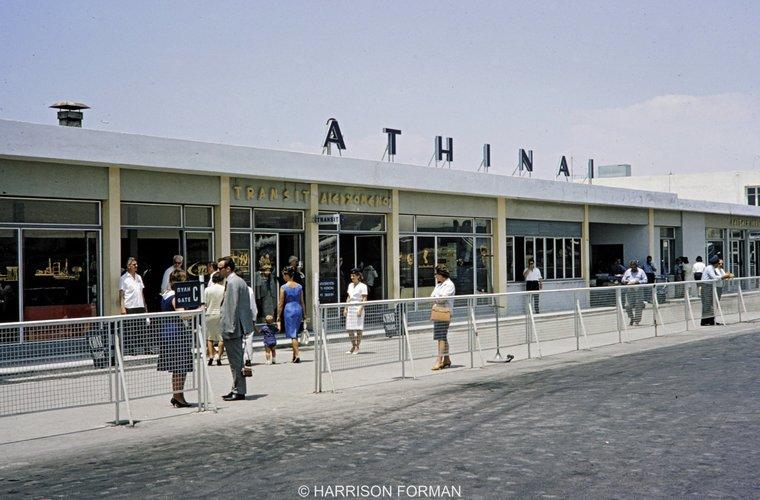 αεροδρόμιο του Ελληνικού 1960 Harrison Forman 2.jpg