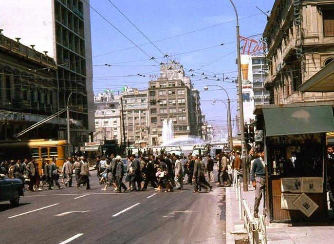 Athens Panepistimiou Omonoia 1961.jpg